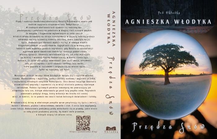 Book cover Przędza Snów